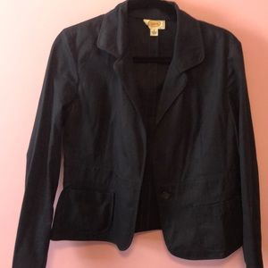 Talbots 100 percent cotton blazer